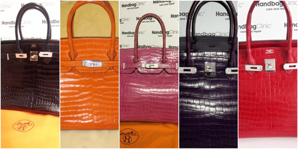 Hermès Birkin en Crocodile, Collection Diamants