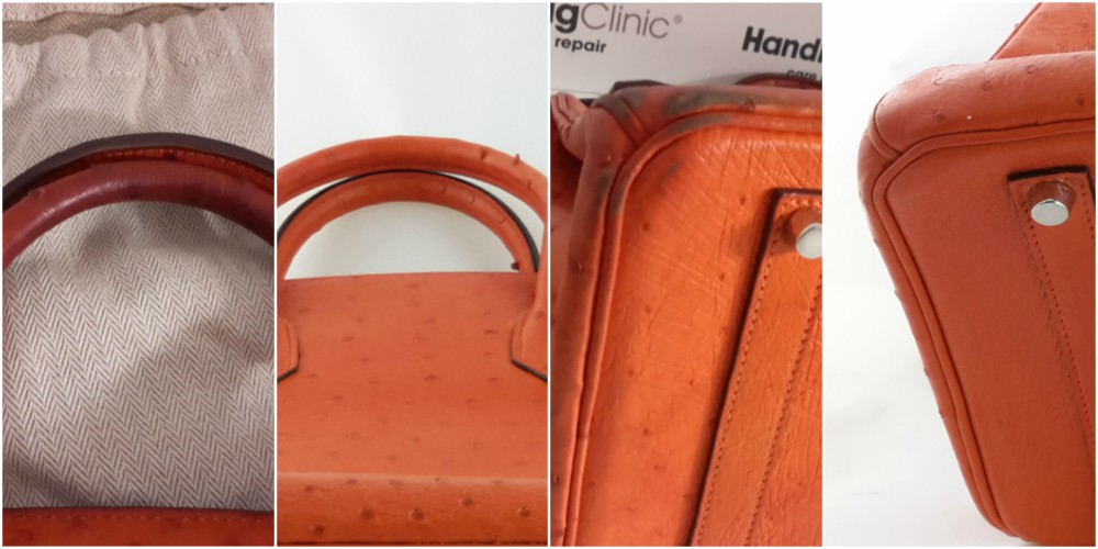 Autruche Orange Birkin